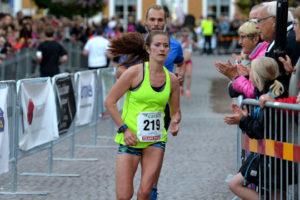 Louise Wiker avancerade till tredje plats på den svenska årsbästalistan i halvmaraton. Foto: Deca Text&Bild