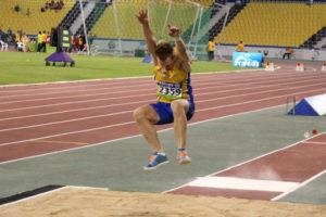 Tobias Jonsson var bäste svensk i Paralympics-friidrotten med sin fjärdeplats i längd, blott tio centimeter från guld. Foto: Pekka Anderman
