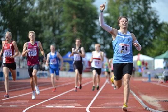 Talang krossade svenskt rekord