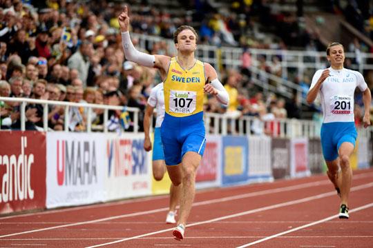 Martinsson hoppar for guld